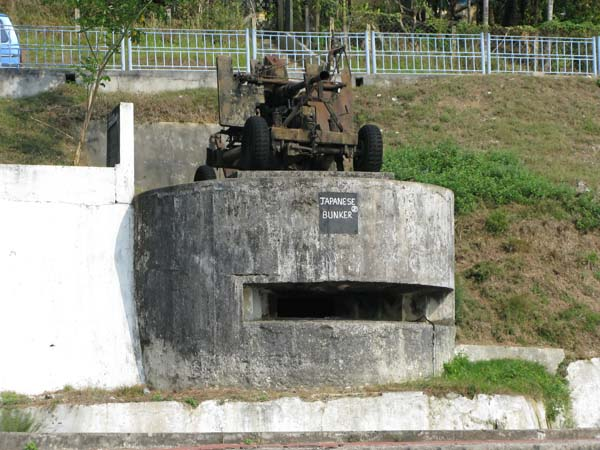 India - Isole Andamane - Port Blair - Bunker giapponese